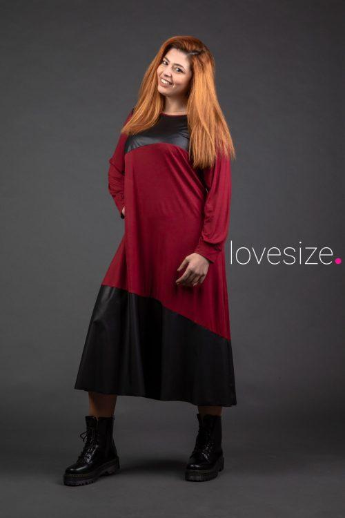 Φόρεμα-plus size-μεγάλα μεγέθη